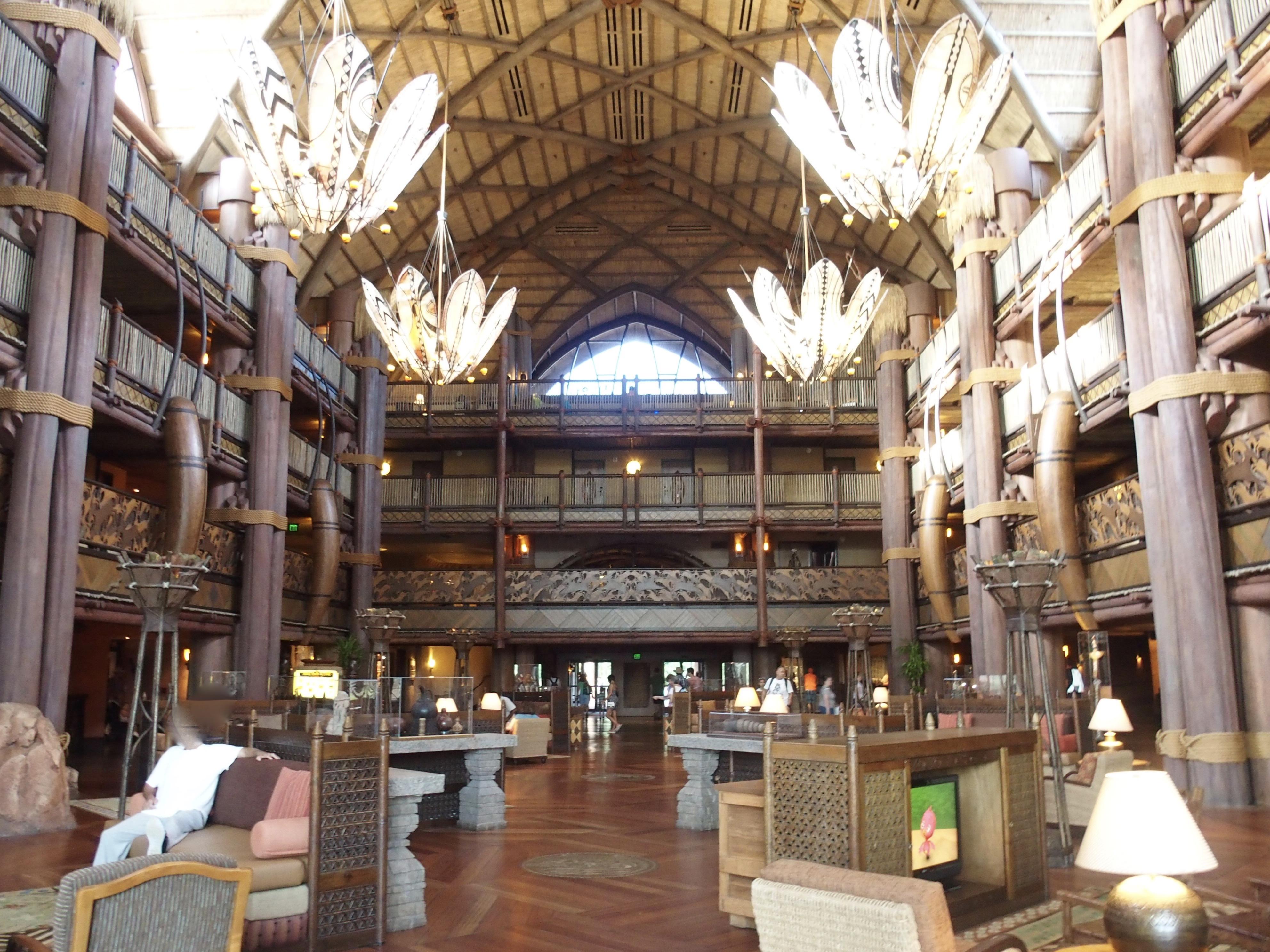 ディズニー・アニマルキングダム・ロッジはwdwの中でおすすめのホテル